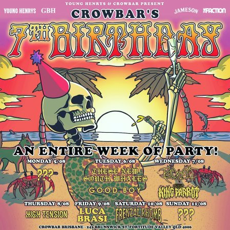 crowbar 7th birtdhay