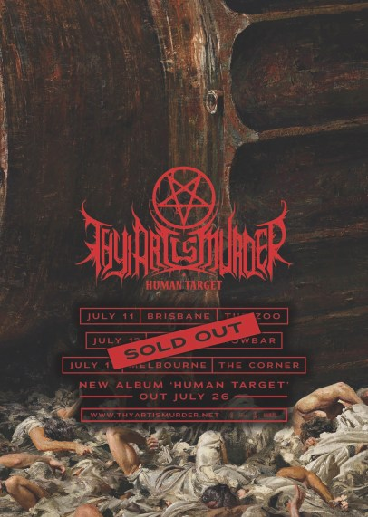 Thy Art Is Murder Tour
