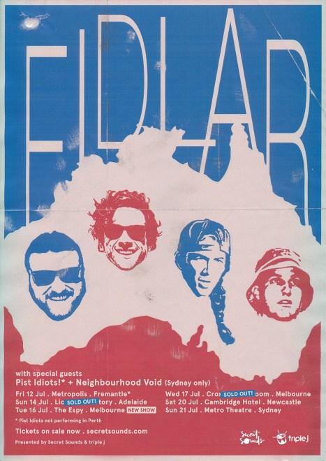 fidlar tour