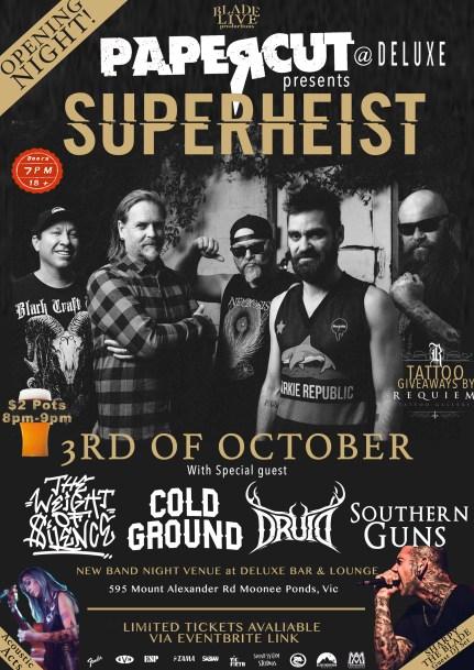 Superheist Flier (3rd Oct)
