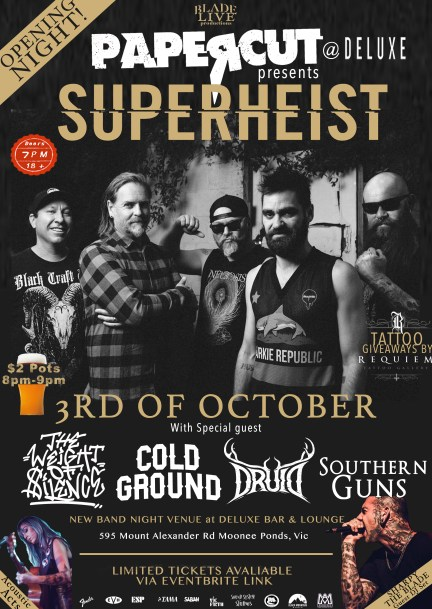 Superheist Flier (3rd Oct)