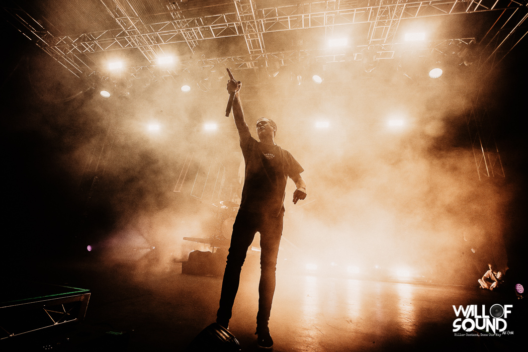 The Amity Affliction. Photo by Charlyn Cameron