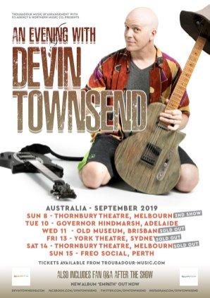 devin townsend tour 19