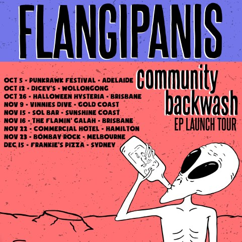 flangipanis - tour