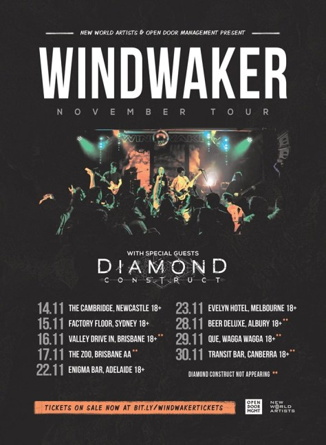 windwaker tour nov