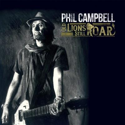 Phil Campbell - Old Lions Still Roar - Artwork