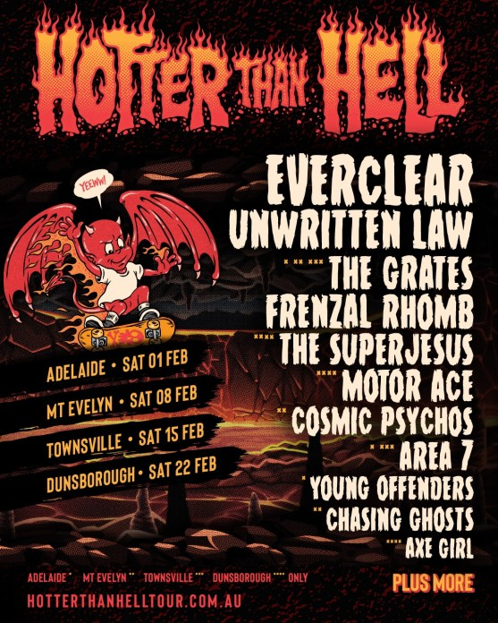 Hotter Than Hell Festival Returns For Chapter 3 In 2020 Wall Of Sound