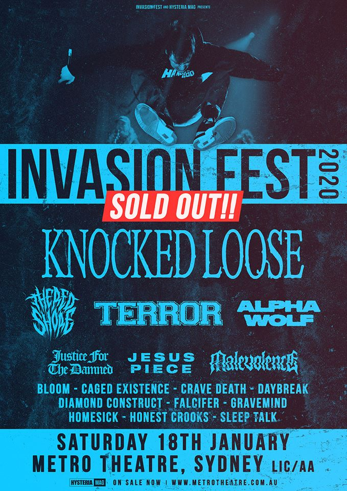 invasion fest sold out