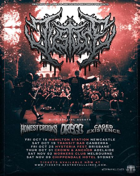 justice for the damned tour