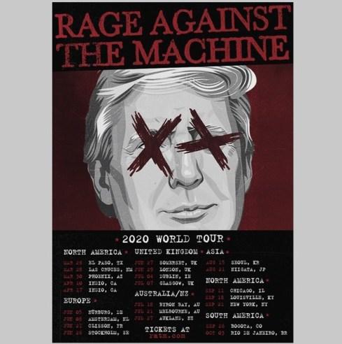 ratm tour fake