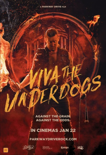 parkway drive viva the underdogs poster