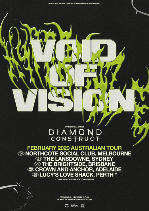 void of vision tour