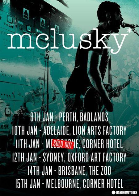 mclusky tour