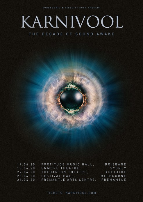 karnivool sound awake tour