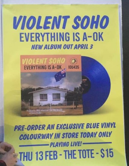 soho new album