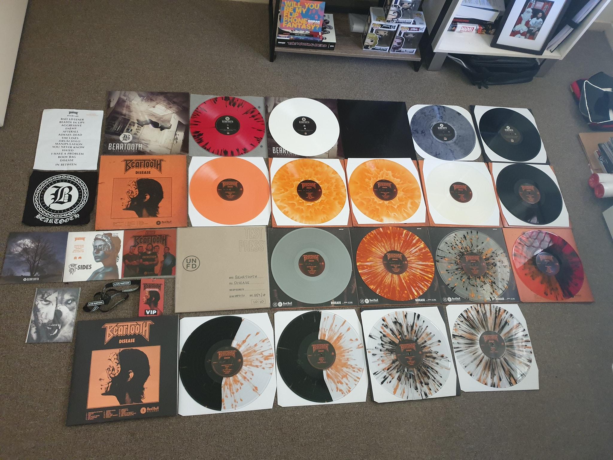 beartooth vinyl variants