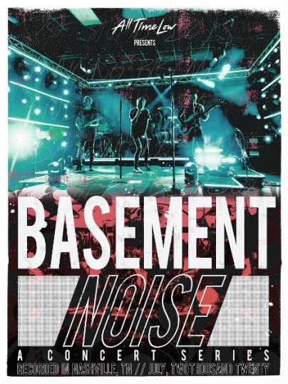 all time low announce basement noise a