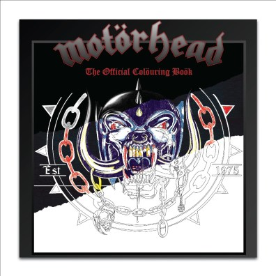 Motorhead colouring book