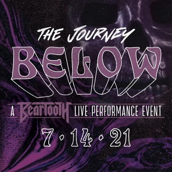 beartooth journey below livestream