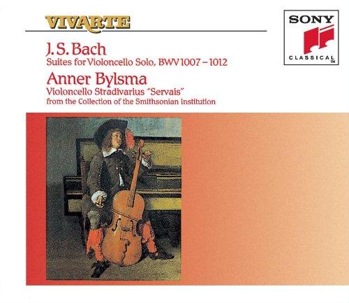 BACH, Jean-Sébastien (1685-1750) Six suites pour violoncelle seul (BWV 1007-1012) par Anner BIJLSMA