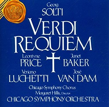 VERDI, Giuseppe (1813-1901) Missa da Requiem : Lacrimosa dirigé par Georg SOLTI avec José van DAM et al.