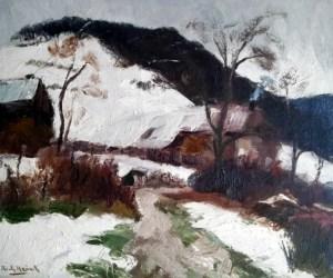 Heintz, Richard, Neige à Sy (1924)