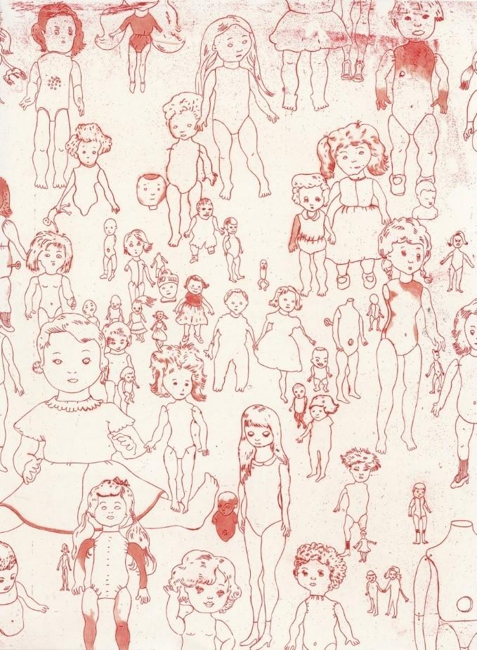 PETROVITCH : Les poupées (2014, Artothèque, Lg)