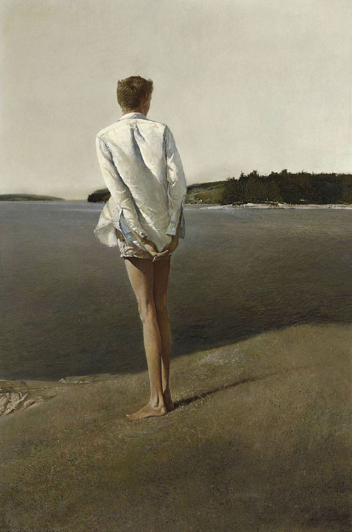 WYETH Andrew, Above the Narrows (1960)