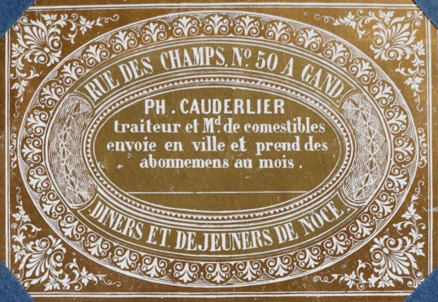 CAUDERLIER, Philippe Edouard (1812-1887)