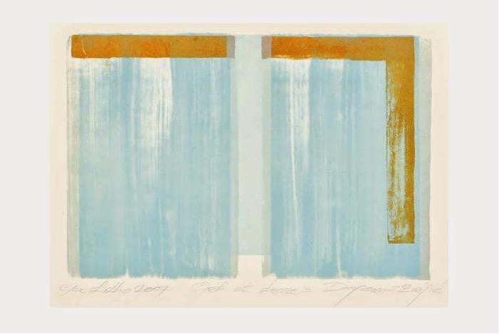 FRANSSEN-BOJIC : Ciel et terre 3 (2007, Artothèque, Lg)