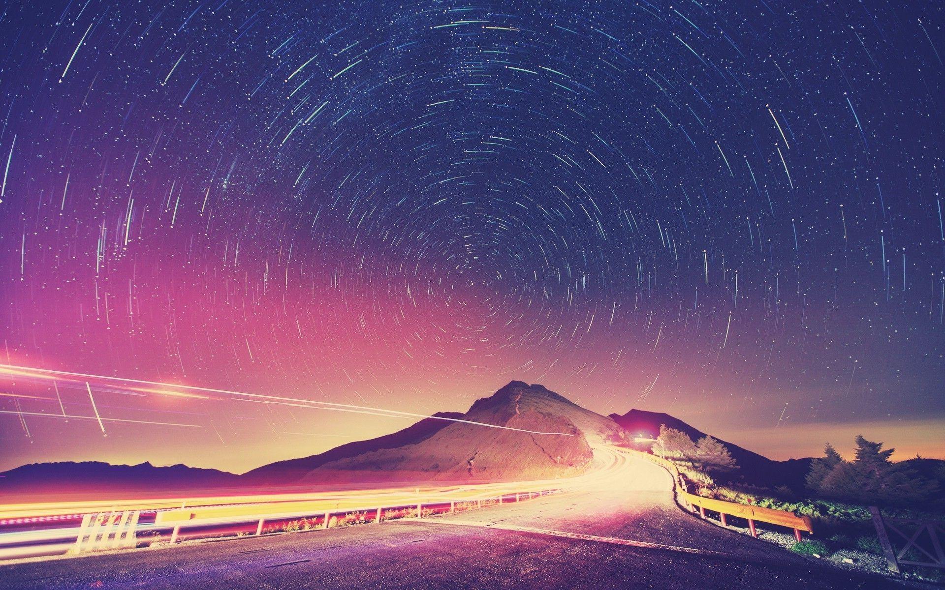 Stars Night Sky Wallpapers Group 72