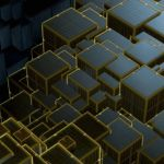 3d wallpapers iphone 5 Group  74   Wallpaper Iphone 5 S Black And Golden Cubes 3d 640 X 1136   640 x