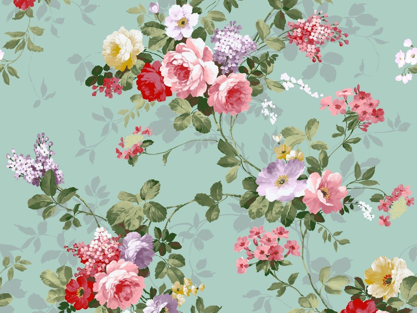 Vintage Floral Iphone Wallpaper Free Desktop Flickr Photo Sharing