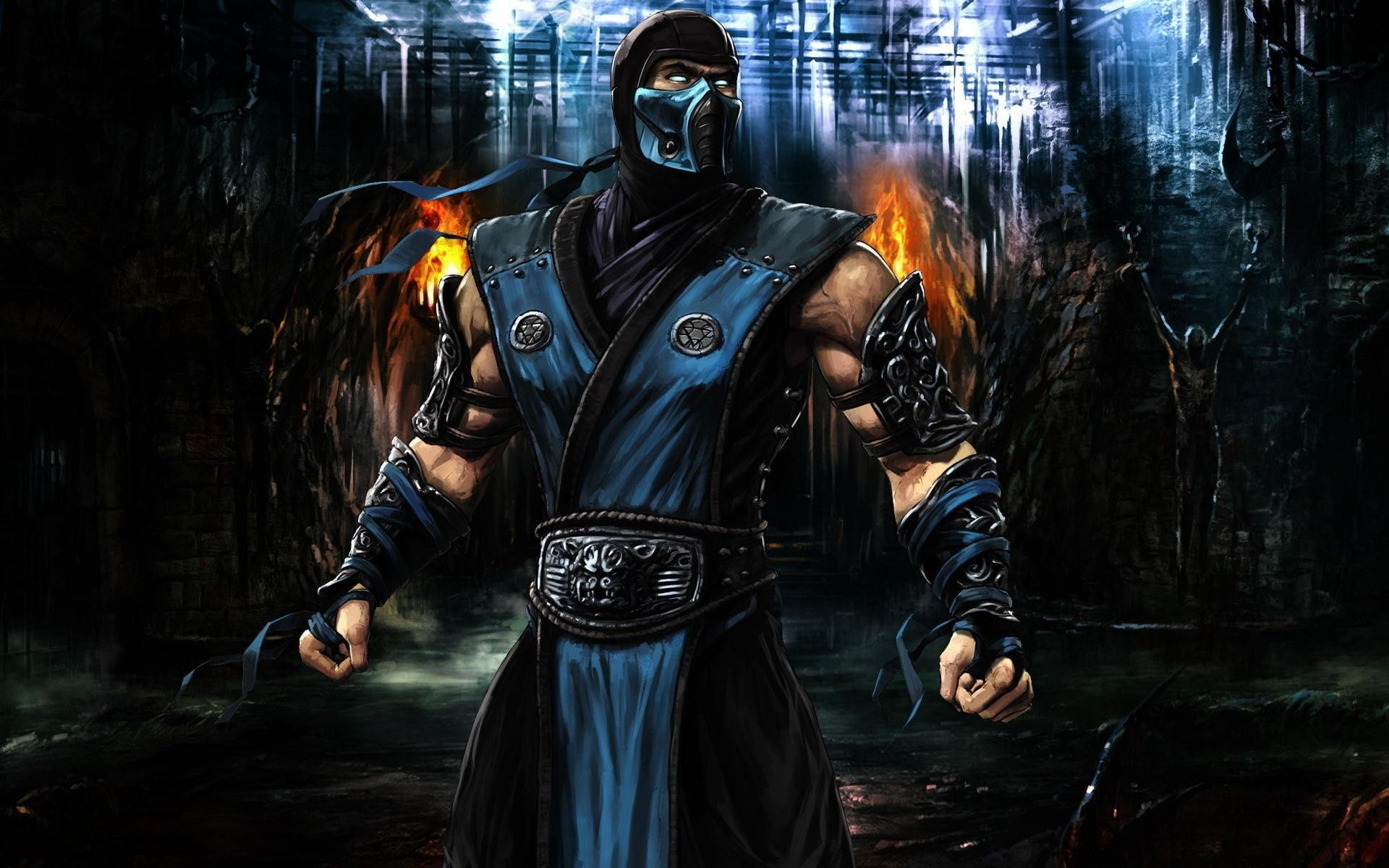 Games 3D Wallpapers Group  77   video games  Mortal Kombat  Sub Zero  3D    Wallpapers