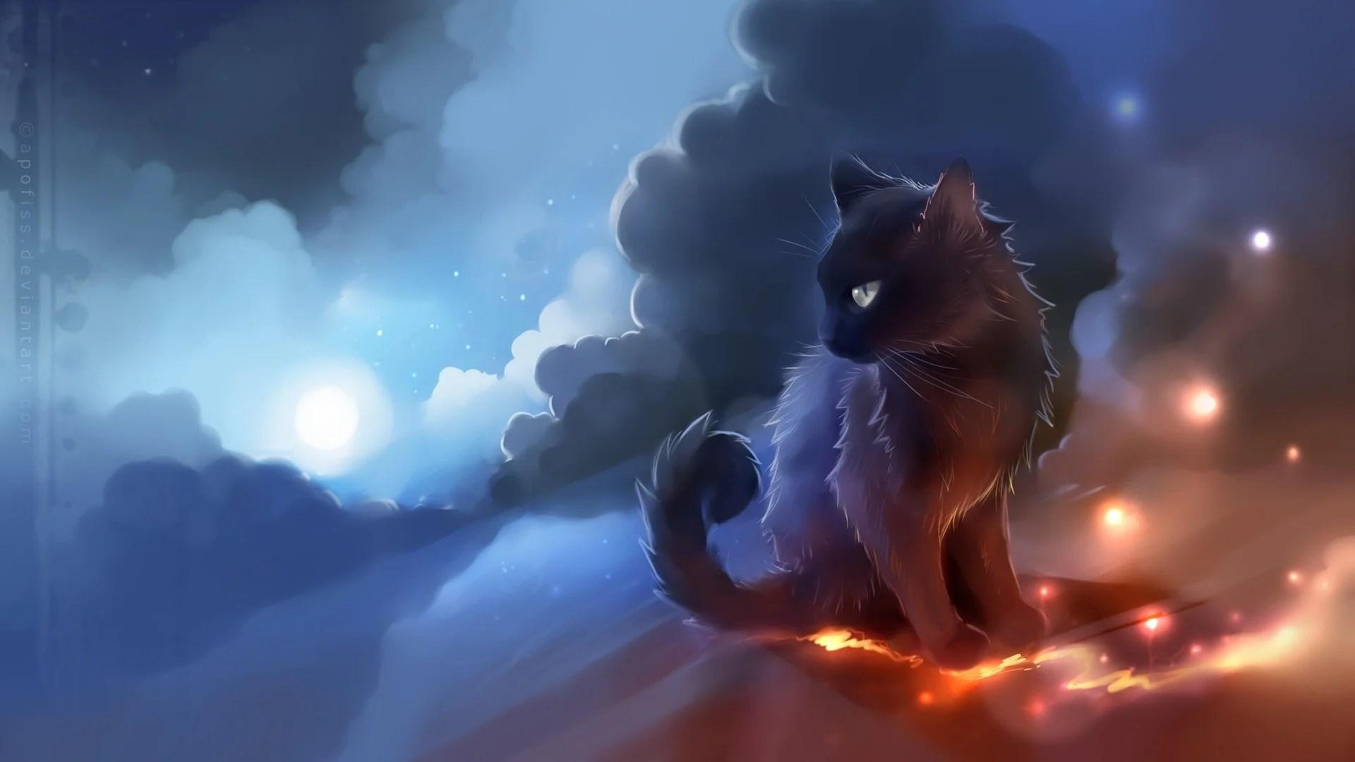 114 Cute Anime Cat