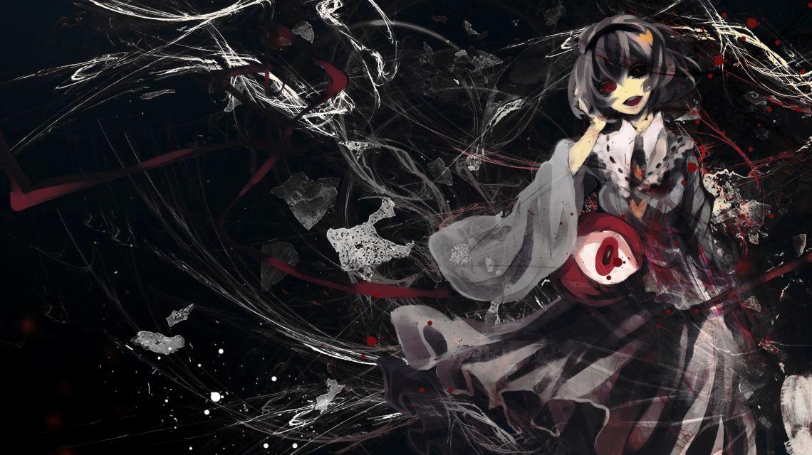 Dark Red Anime Wallpapers On Wallpaperdog