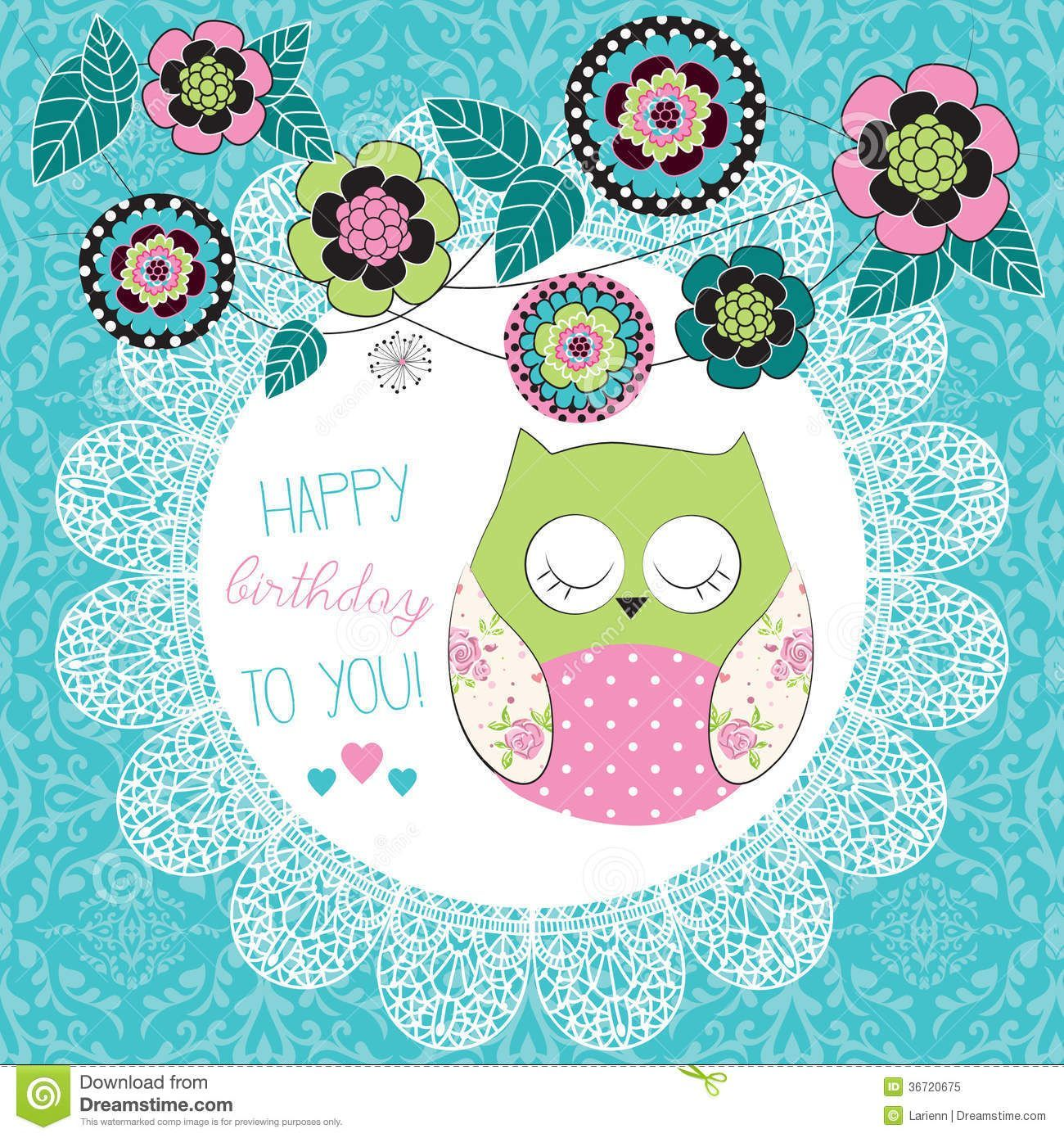Owl Happy Birthday Wallpapers On Wallpaperdog