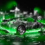 Neon Green Cool Car Wallpapers On Wallpaperdog