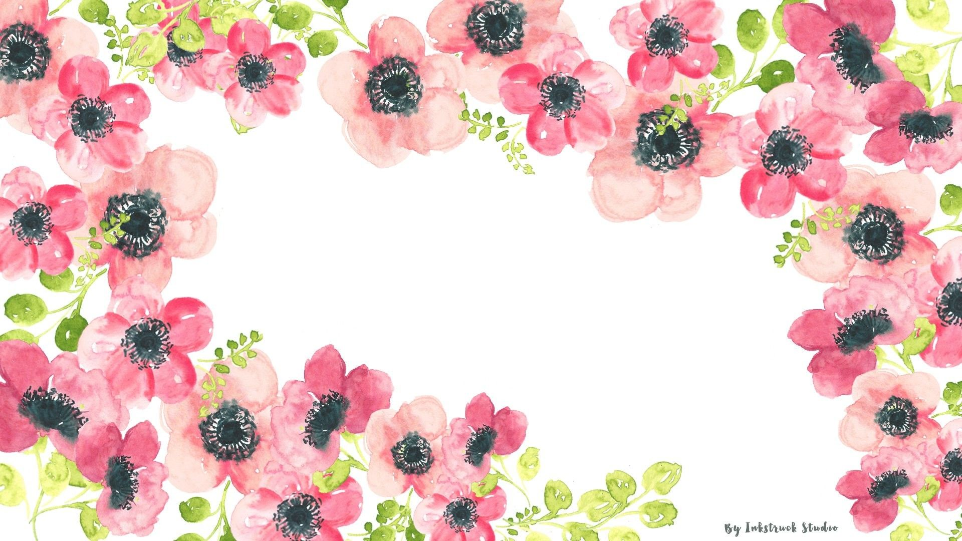 Watercolor Flowers Desktop Wallpapers Top Free Watercolor Flowers Desktop Backgrounds Wallpaperaccess