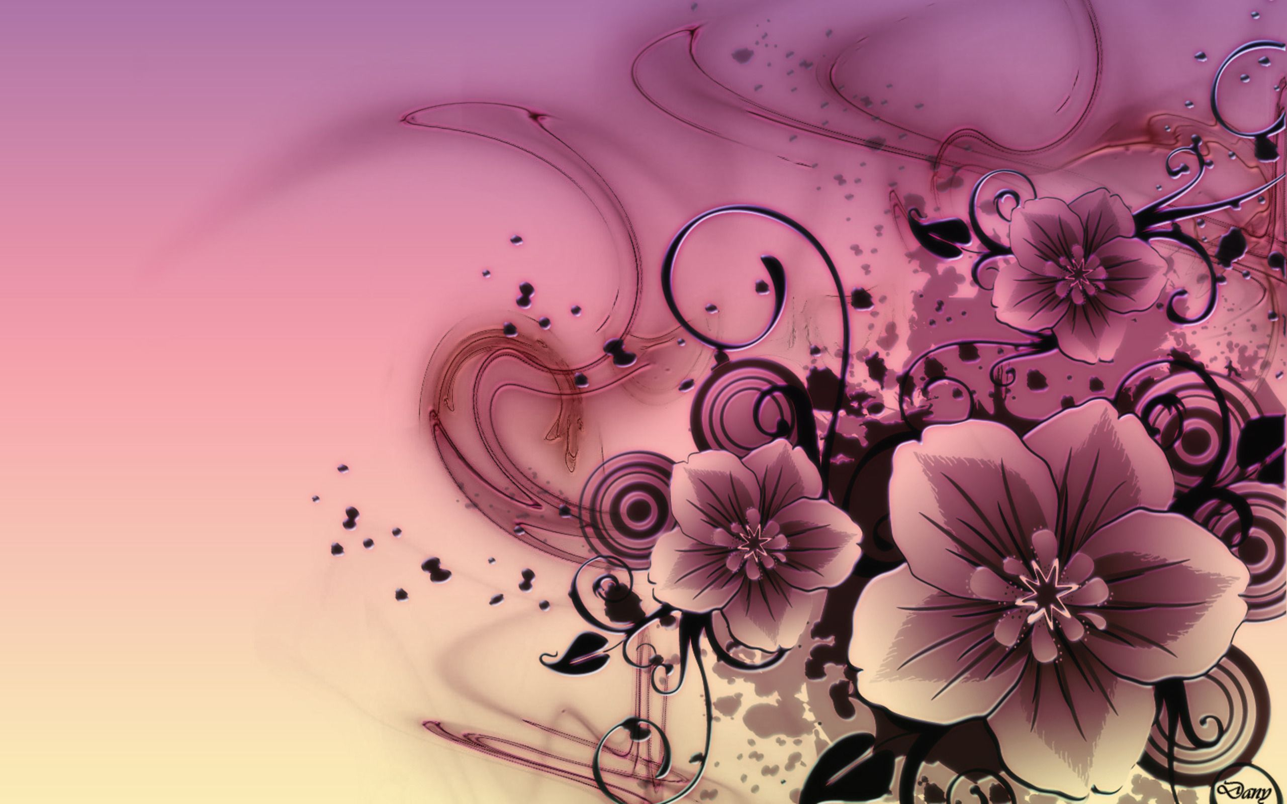 Abstract Floral Desktop Wallpapers Top Free Abstract Floral Desktop Backgrounds Wallpaperaccess