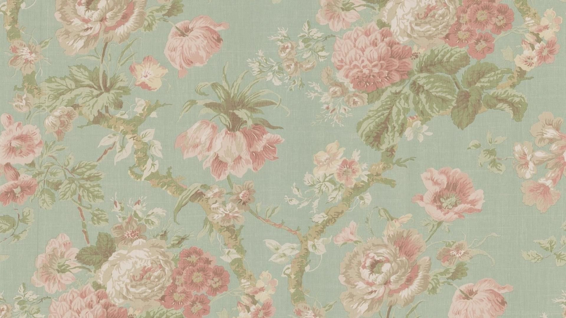 Vintage Floral Computer Wallpapers Top Free Vintage Floral Computer Backgrounds Wallpaperaccess