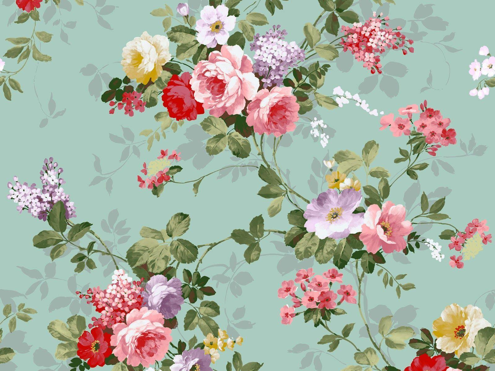 Vintage Flower Desktop Wallpapers Top Free Vintage Flower Desktop Backgrounds Wallpaperaccess