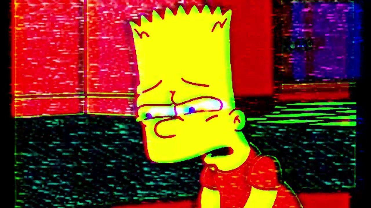 Bart Simpson Sad Desktop Wallpapers Top Free Bart Simpson