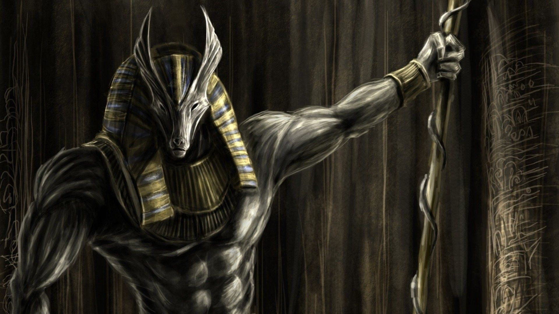 Ancient Egyptian Gods Wallpapers