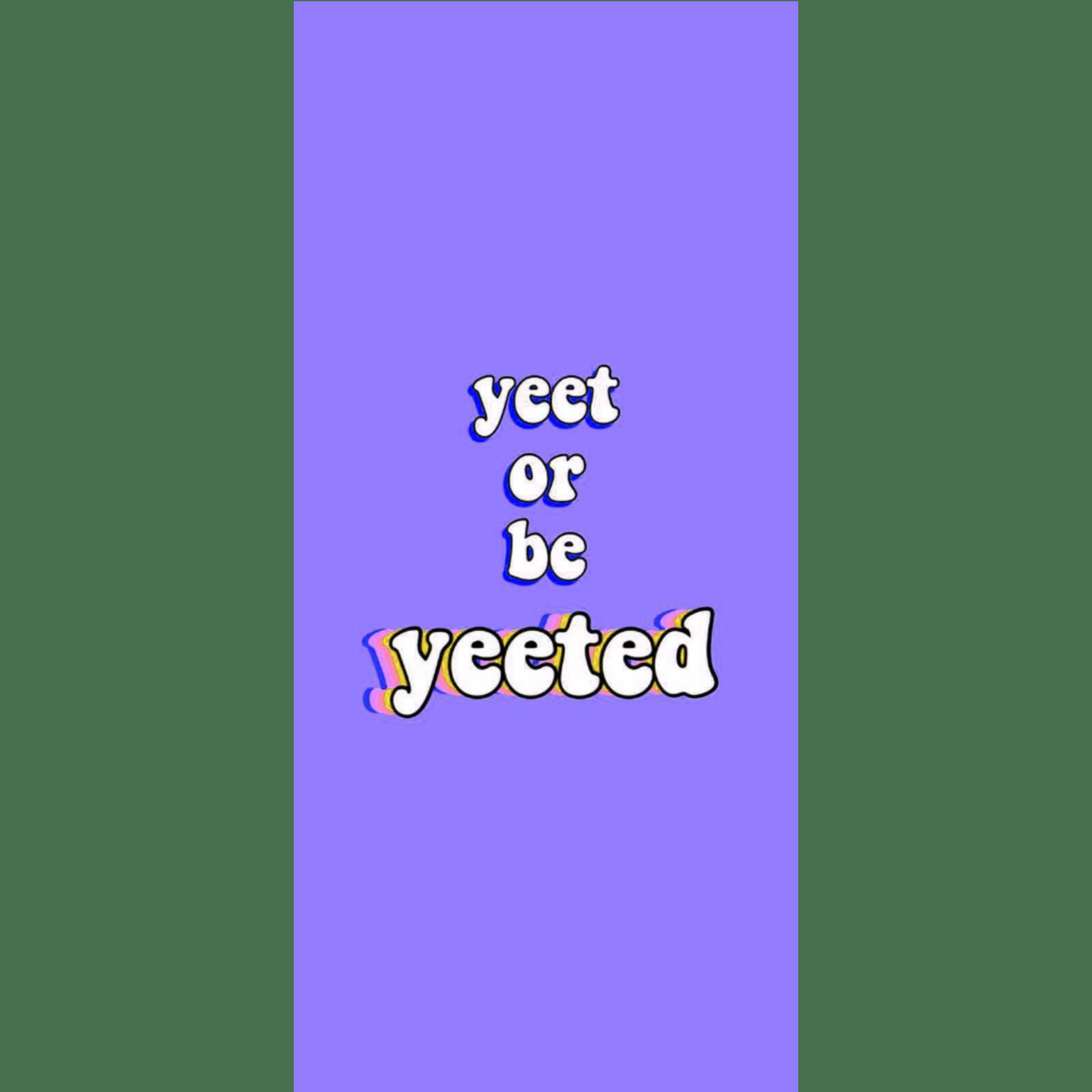 Yeet Or Be Yeeted Wallpapers Top Free Yeet Or Be Yeeted