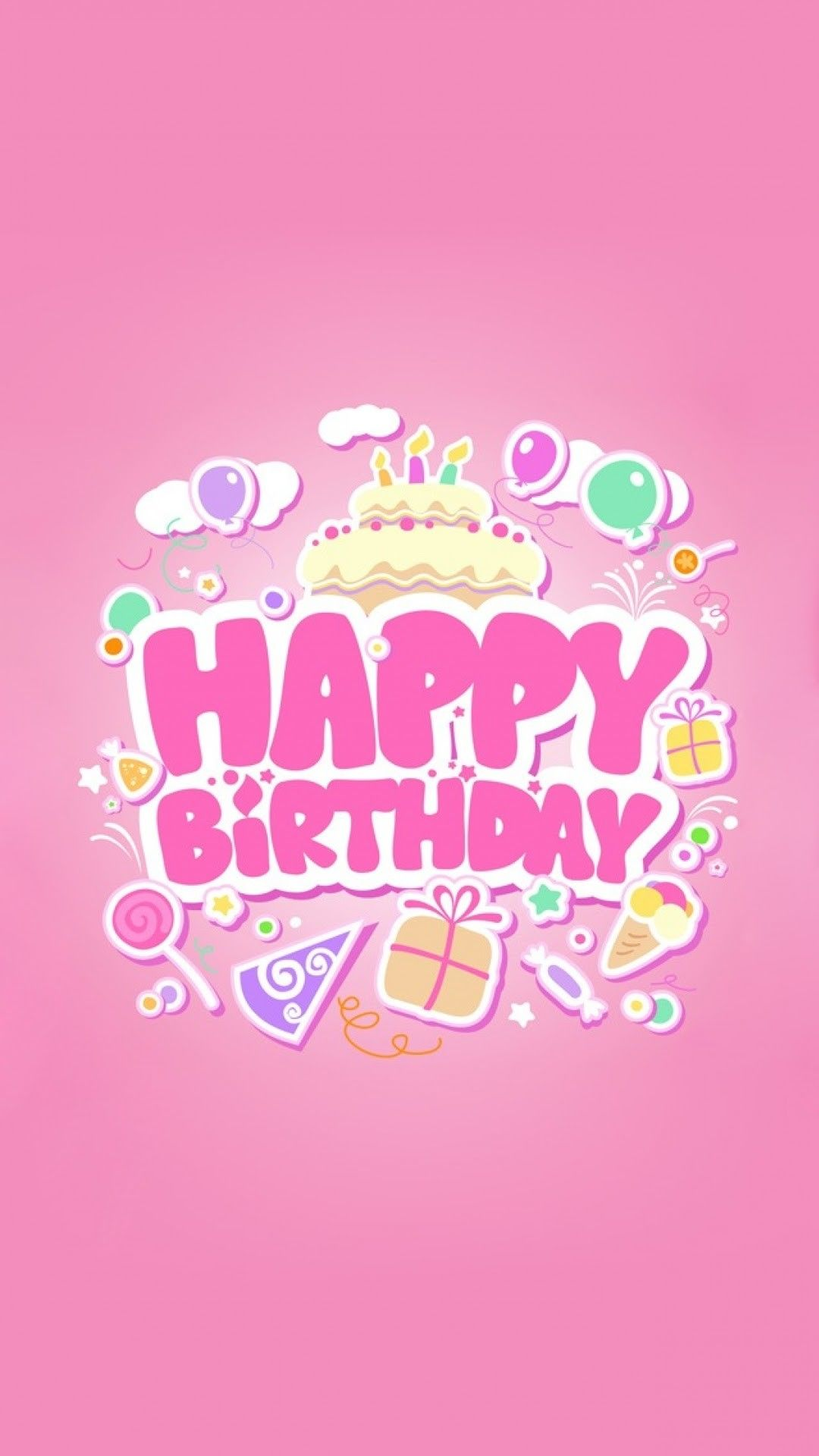 Happy Birthday Iphone Wallpapers Top Free Happy Birthday Iphone Backgrounds Wallpaperaccess