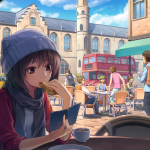 Cafe Anime Wallpapers Top Free Cafe Anime Backgrounds Wallpaperaccess