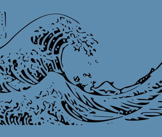 X  Japanese Art Wallpapers Japanese Art  Quality Hd Download  C B X The Big Wave