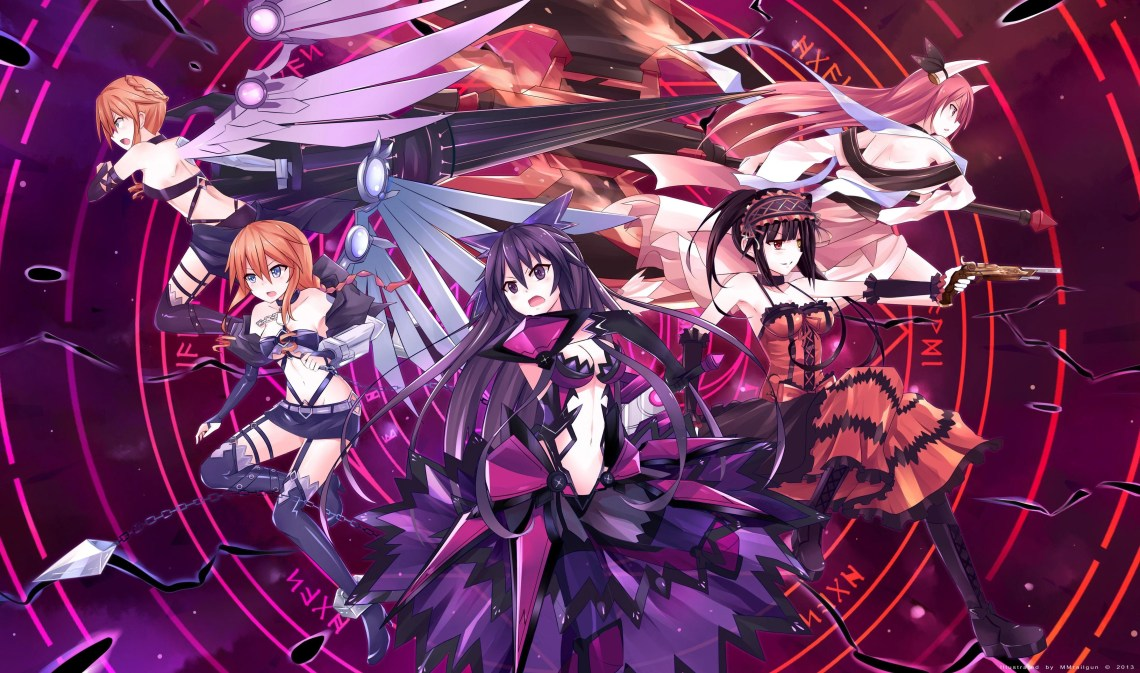 Date A Live Wallpapers Top Free Date A Live Backgrounds Wallpaperaccess