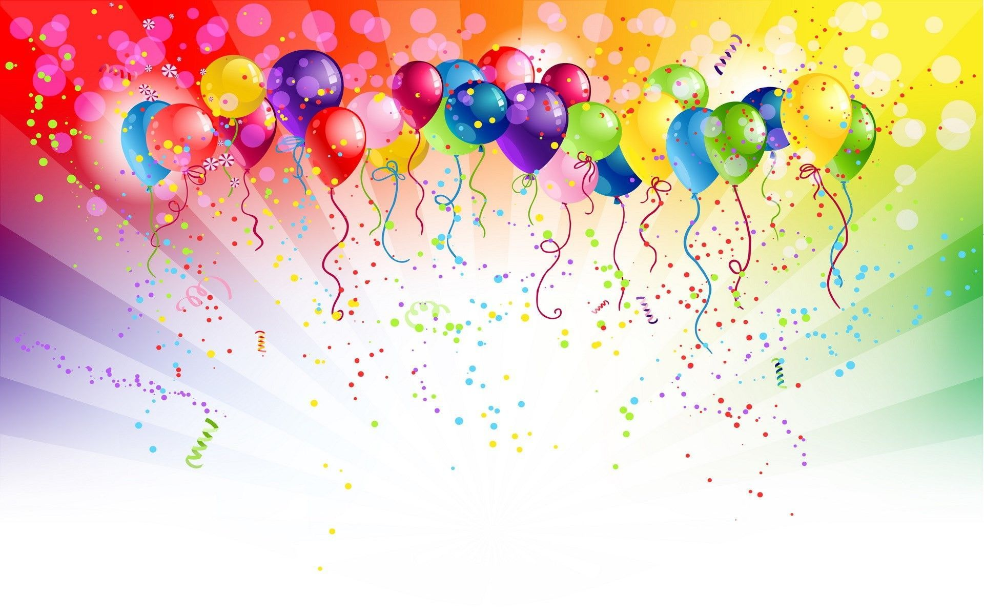 Birthday Balloons Wallpapers Top Free Birthday Balloons Backgrounds Wallpaperaccess
